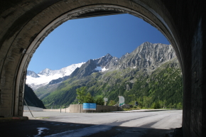 schlegeis alpenstrasse tunnel